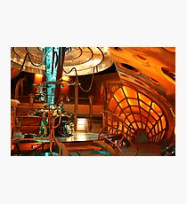Doctor Who Tardis Interior Photographic Print