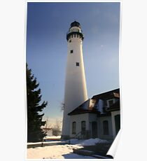 Wind Point Lighthouse Poster