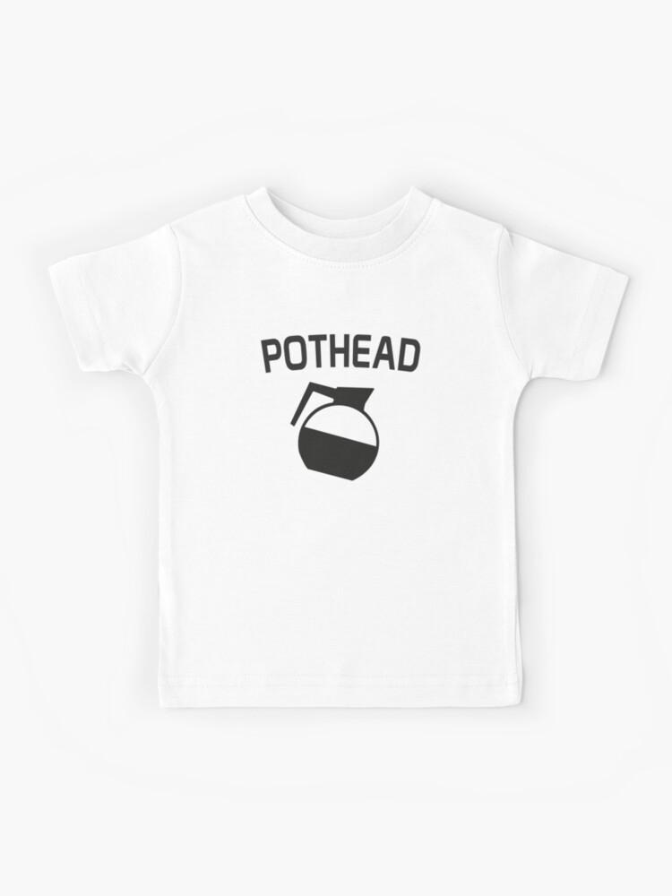 Pot Head Funny Coffee T-Shirt