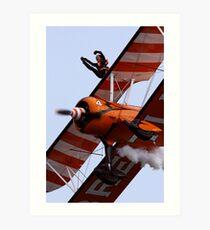 Wing Walker Art Print