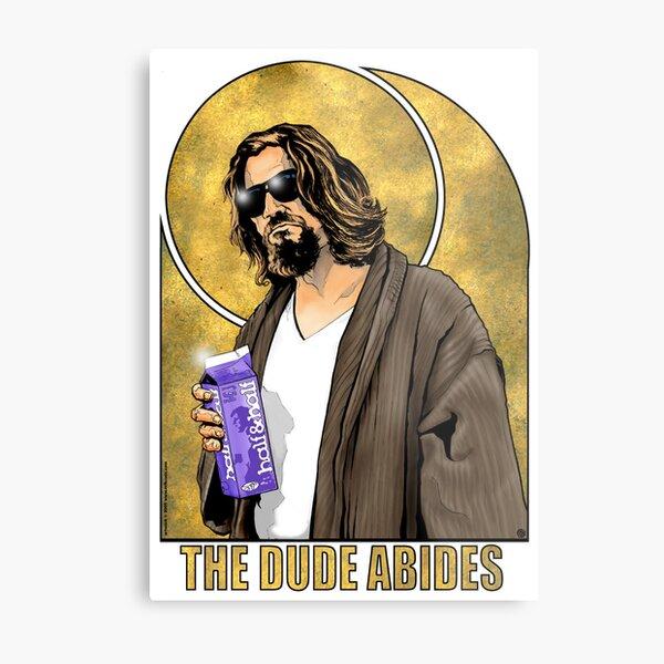 The Dude Big Lebowski Poster Metal Print