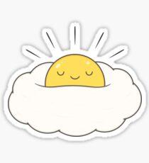 Sonnenschein zum Frühstück / Eiwolke Sticker