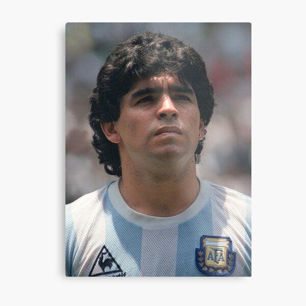 Diego Maradona Metal Print