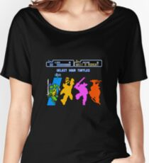 Turtles in Time - Leonardo Women's Relaxed Fit T-Shirt