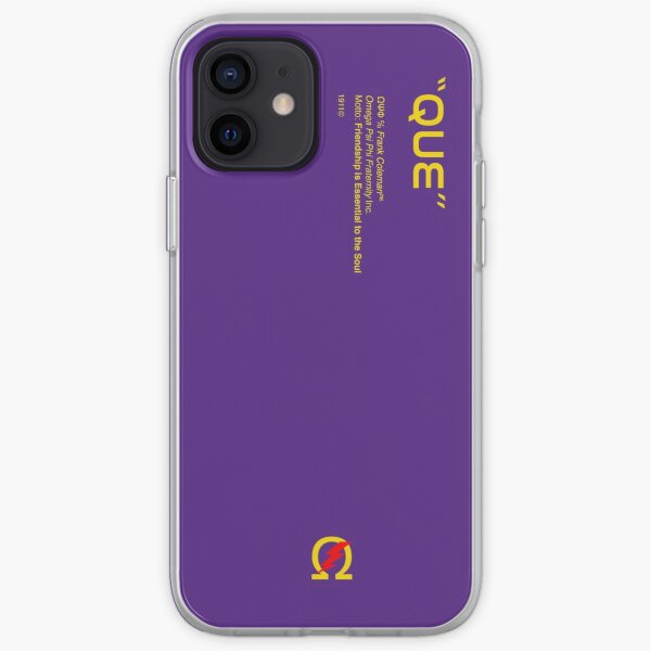 Omega Psi Phi Purple Phone Case iPhone Soft Case