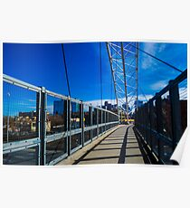 Highland Denver Bridge Poster
