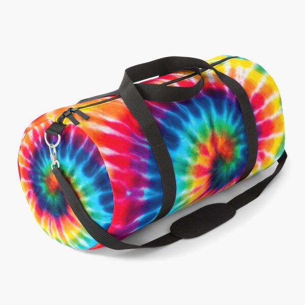 Backpack TIE DYE Colorful Rainbow Spiral Duffle Bag