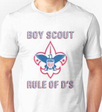 Workaholics Boy Scouts Rule of D's T-Shirt