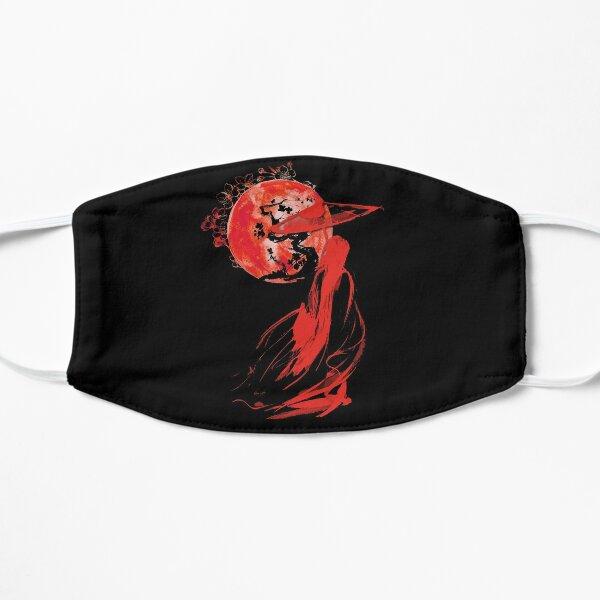 Japanische Geisha Flache Maske