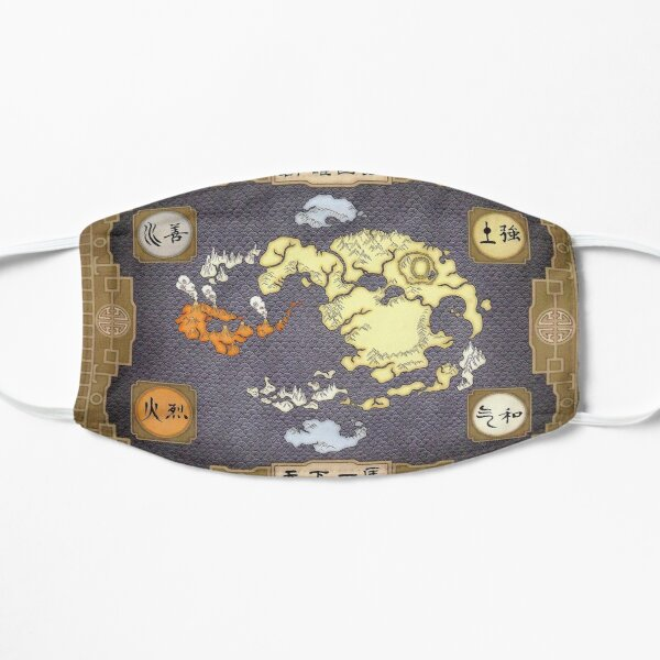 Avatar the Last Airbender Map Mask