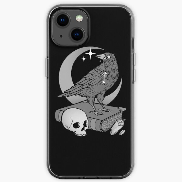 Occult Crow iPhone Soft Case