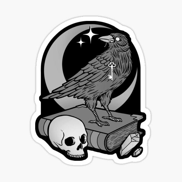 Occult Crow Sticker