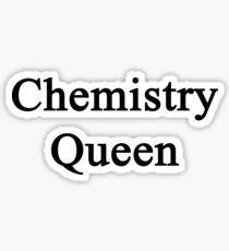 Chemistry Queen  Sticker
