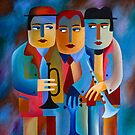 THREE MUSICIANS by Thomas Andersen