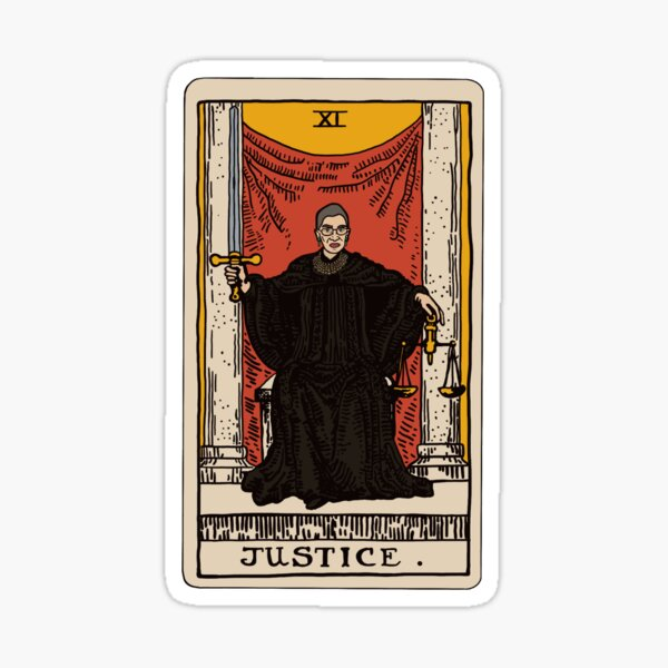 RBG Tarot Sticker