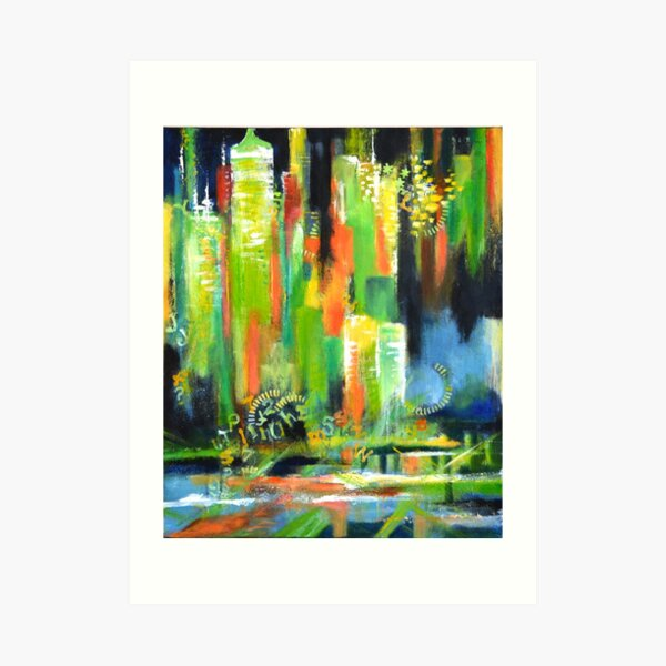 City mood Art Print