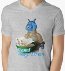 Toasted Ginger Wheats Mens V-Neck T-Shirt