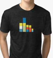 Simpsons on the Block Tri-blend T-Shirt
