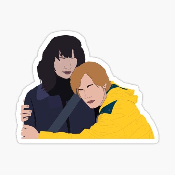 DARK (Netflix) Jonas & Martha Sticker Sticker