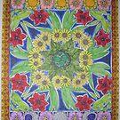 Mandala of Summer Flowers by Susan Genge