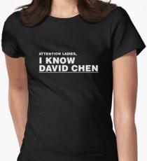 David Chen Womens Fitted T-Shirt