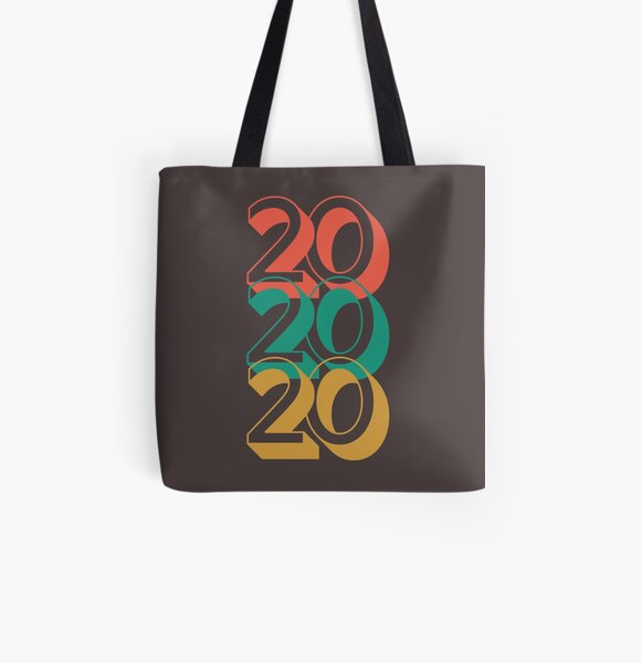 A Year To Remember - 2020 Retro All Over Print Tote Bag