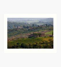 Rolling Tuscany Art Print
