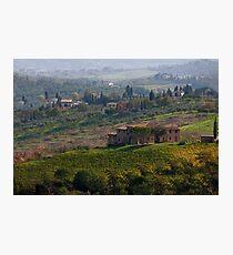 Rolling Tuscany Photographic Print