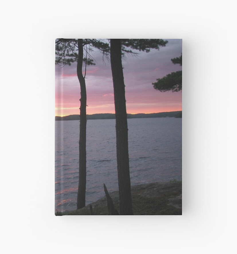 Lake Sunset,-Available As Art Prints-Mugs,Cases,Duvets,T Shirts,Stickers,etc by Robert Burns