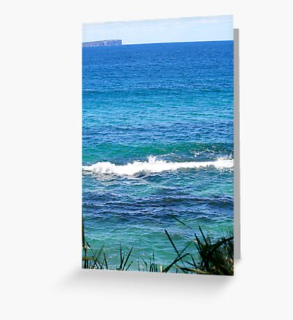 The Emerald that is. Greeting Card