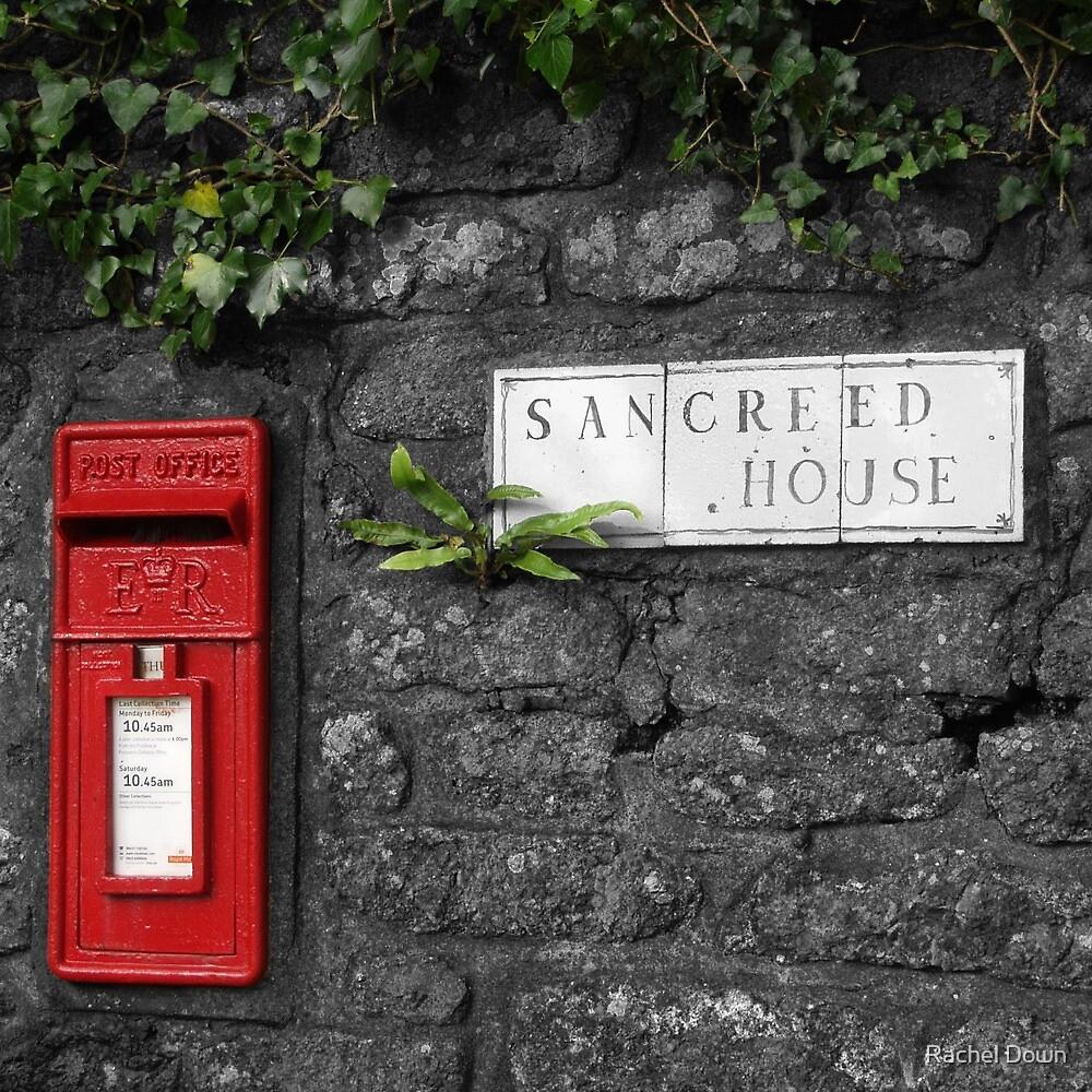 Sancreed Postbox by Rachel Down