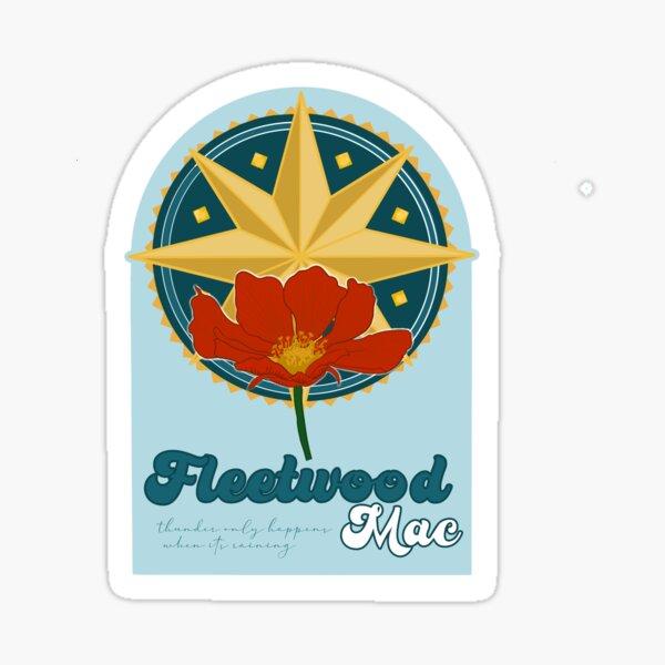 FLEETWOOD MAC ILLUSTRATION Sticker