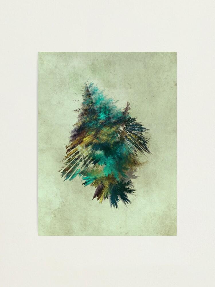 Alternate view of Tree - Fractal Art Photographic Print