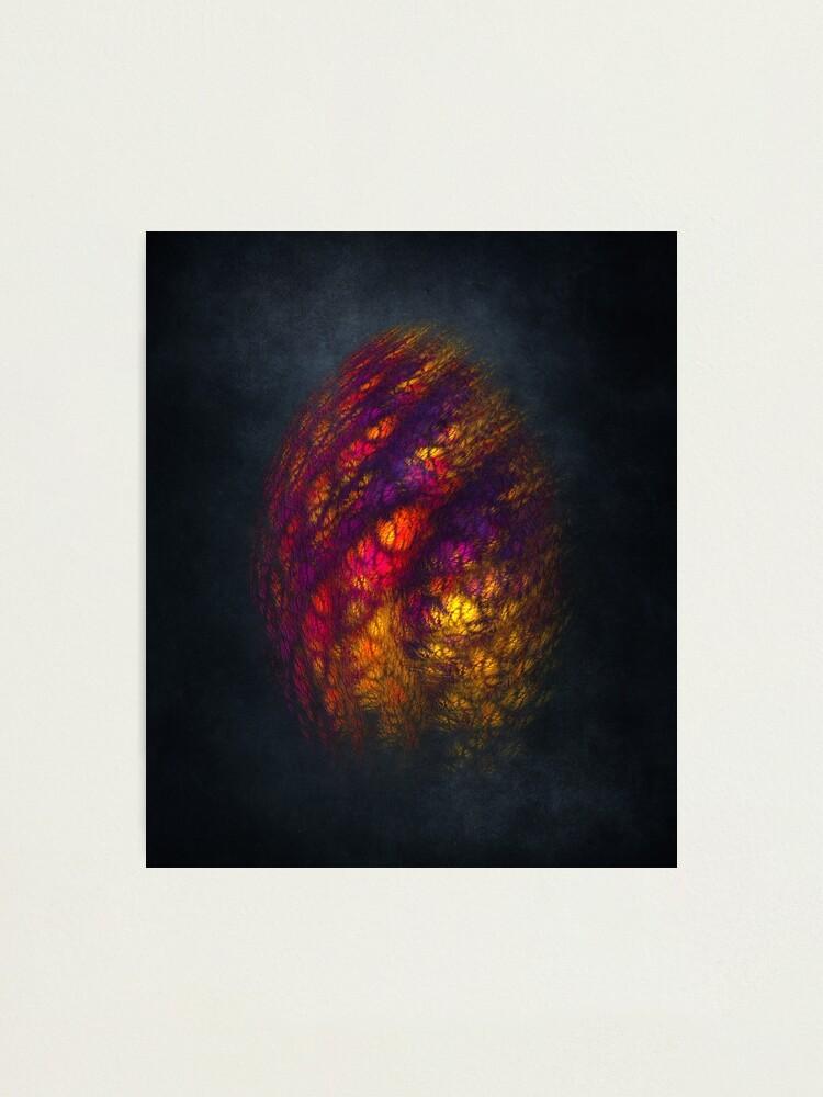 Alternate view of Dragon Egg Fractal Art Photographic Print
