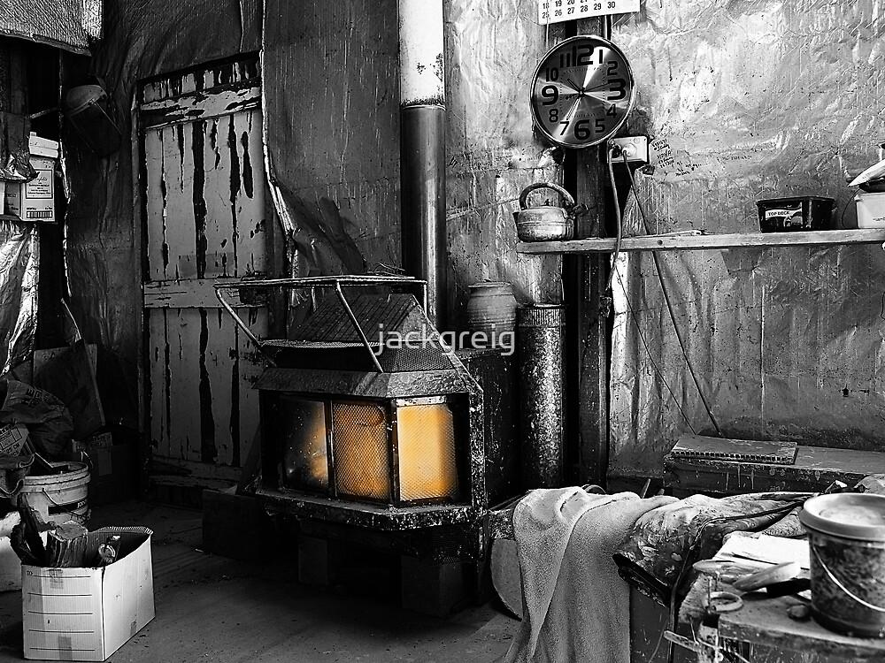Potter's Workshop by jackgreig