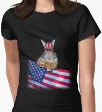 Patriotic Bunny Rabbit T-Shirt