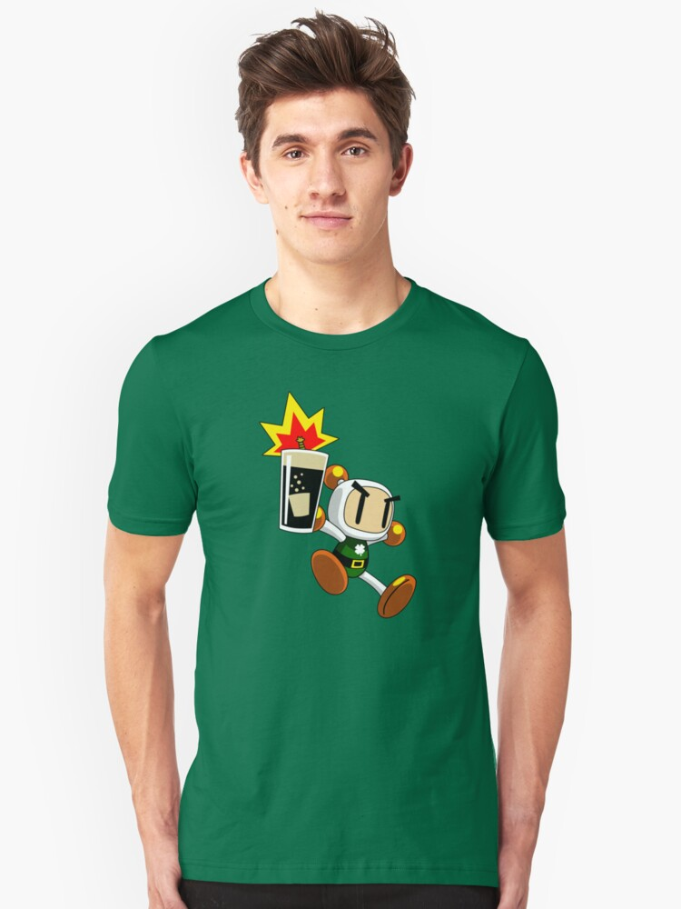 Irish Carbomber Man by Crocktees