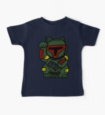 LUCKY BOBA CAT Baby Tee