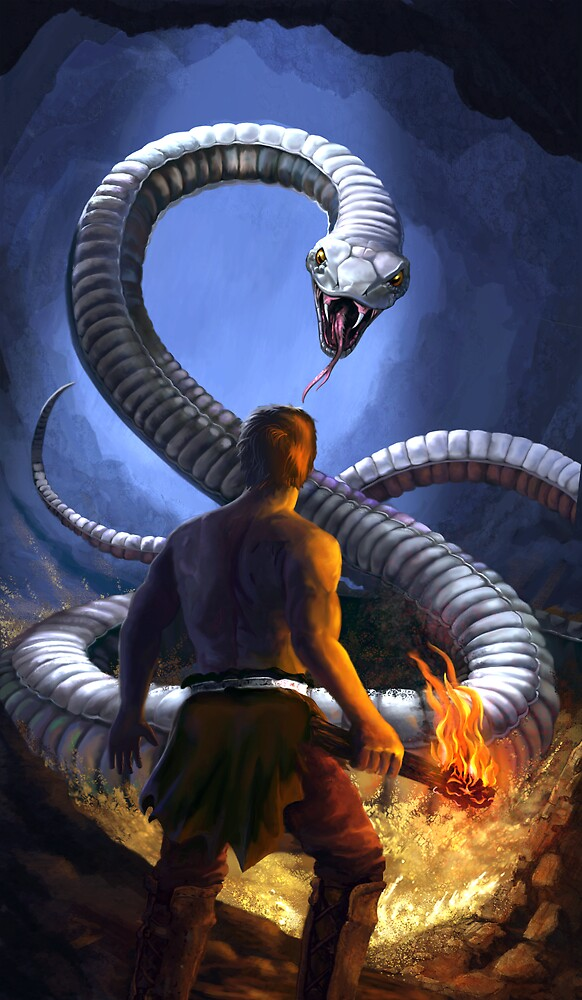 Snake Attack by Chris-Garrett