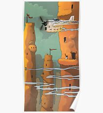 Mud Towers Poster