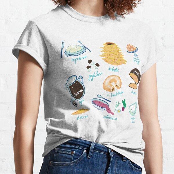 Lithuanian food Classic T-Shirt