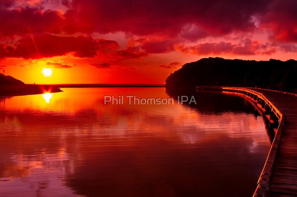 """""""Sunrise Over Spring Creek"""" by Phil Thomson IPA"""