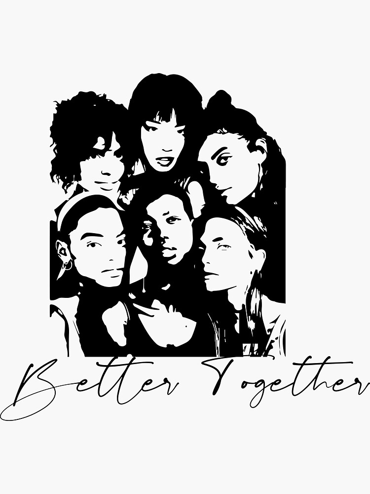 Better Together Cultural Diversity, Racial equality, Social Justice, Strong women, Black women, Women's Empowerment by culturedsis