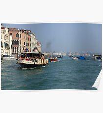 Vaporetto Venice Poster