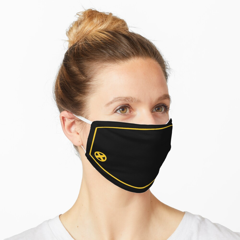 Would you prefer yellow spandex? Mask