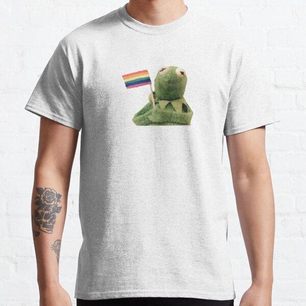 pride flag kermit Classic T-Shirt