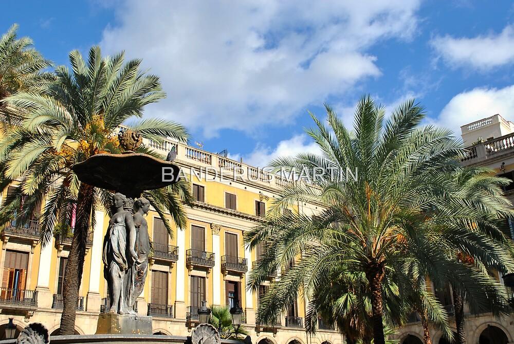 Plaza Real by BANDERUS MARTIN