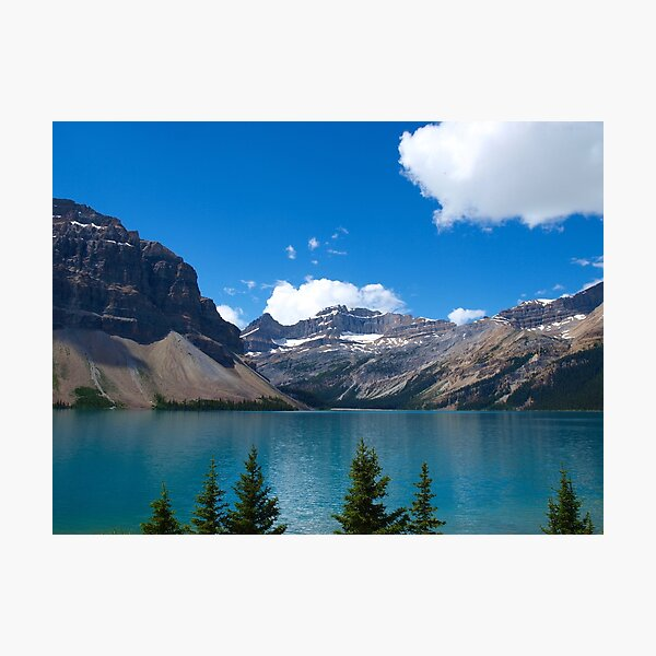 Rocky Mountains Splendour Photographic Print