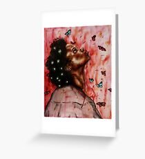 Queen of the Flies Greeting Card