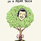 Alan Partridge in a Pear Tree by Sophie Corrigan